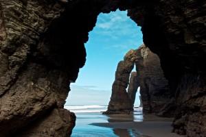 playa de las cathedrals spanje